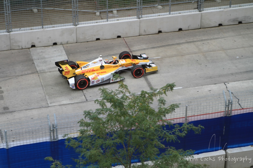 Ryan Hunter-Reay won the 2012 Baltimore Grand Prix.