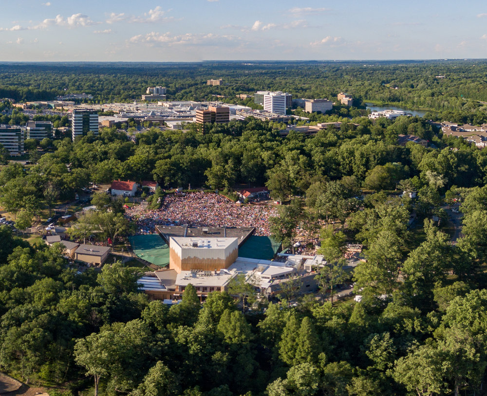 Merriweather Post Pavilion in 2017 (Image Copyright Will Cocks)