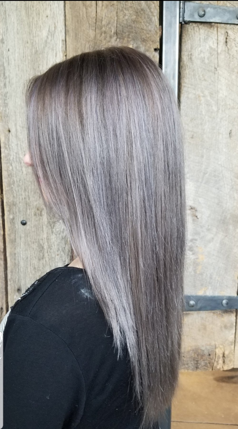 All-Over Lightening/Toner & Haircut