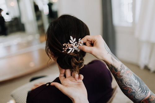 WEDDING GALLERY - We offer both In-Salon and On-Location services to accommodate your specific wedding needs. Our Wedding Artists are highly skilled and always up to date with the latest bridal trends. View our wedding gallery and see for yourself!