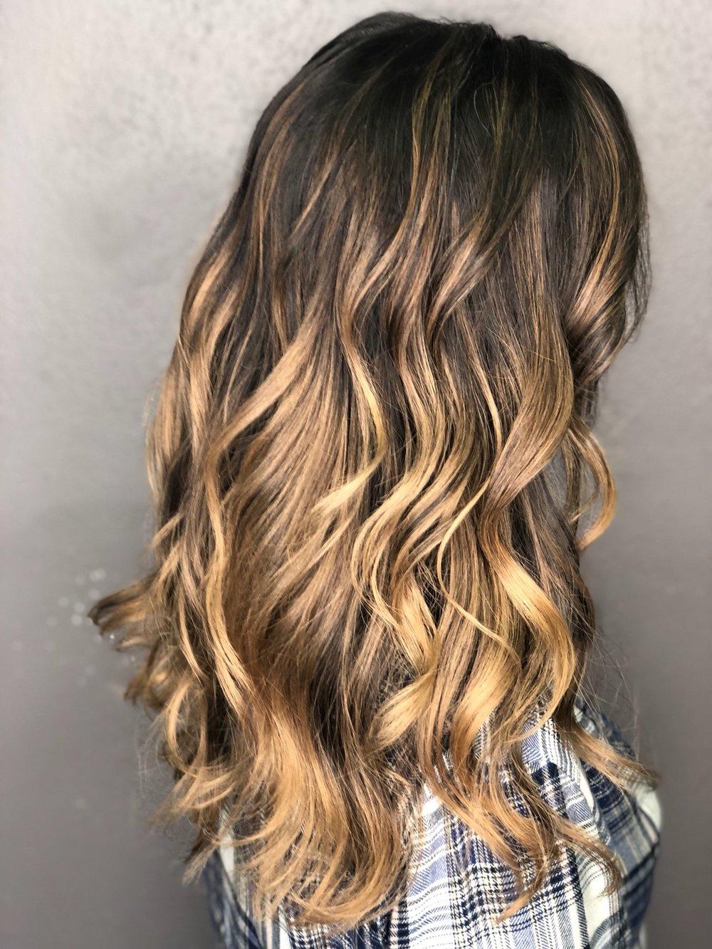 Balayage & Haircut