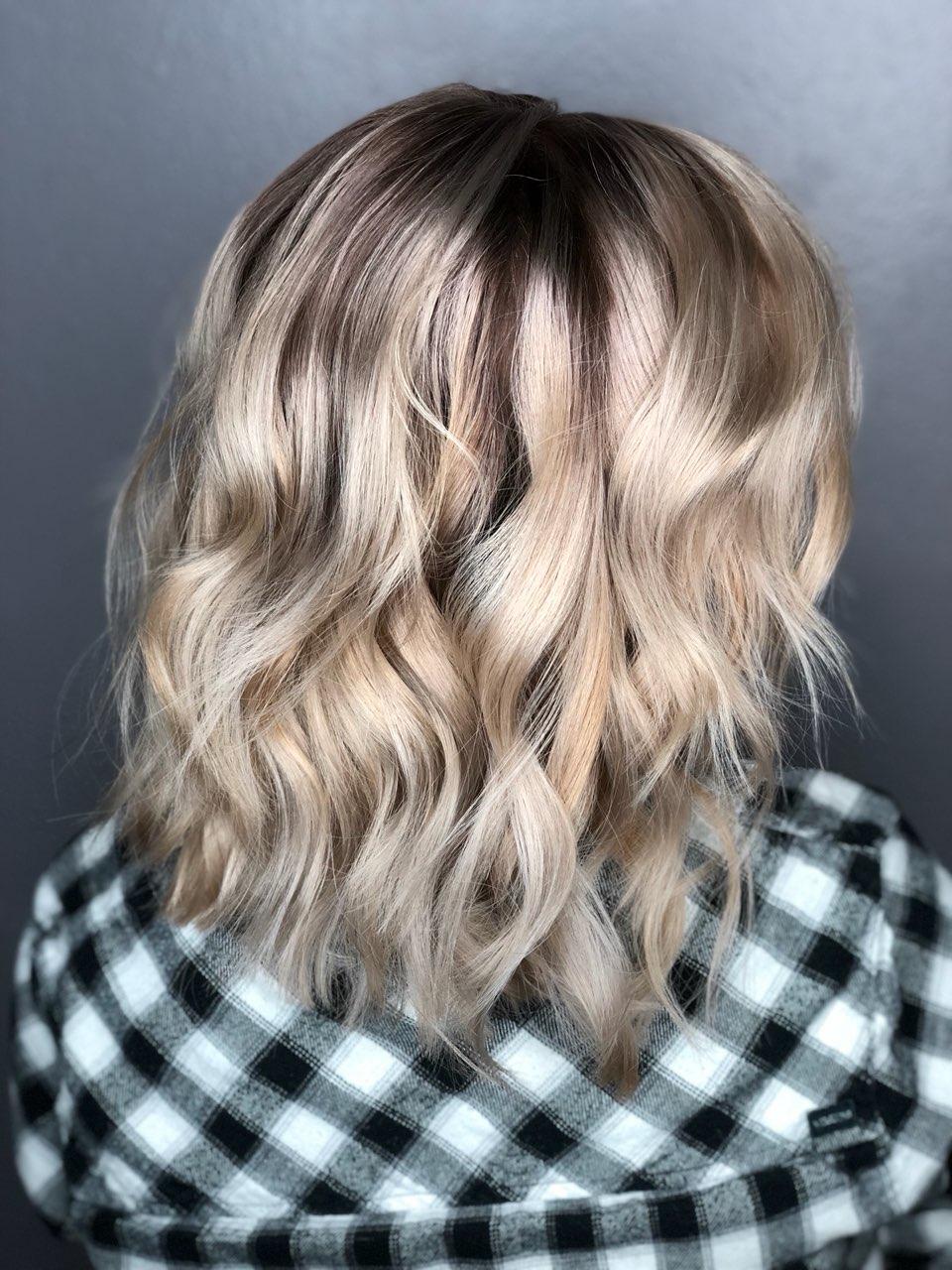 Dimensional Blonde & Haircut