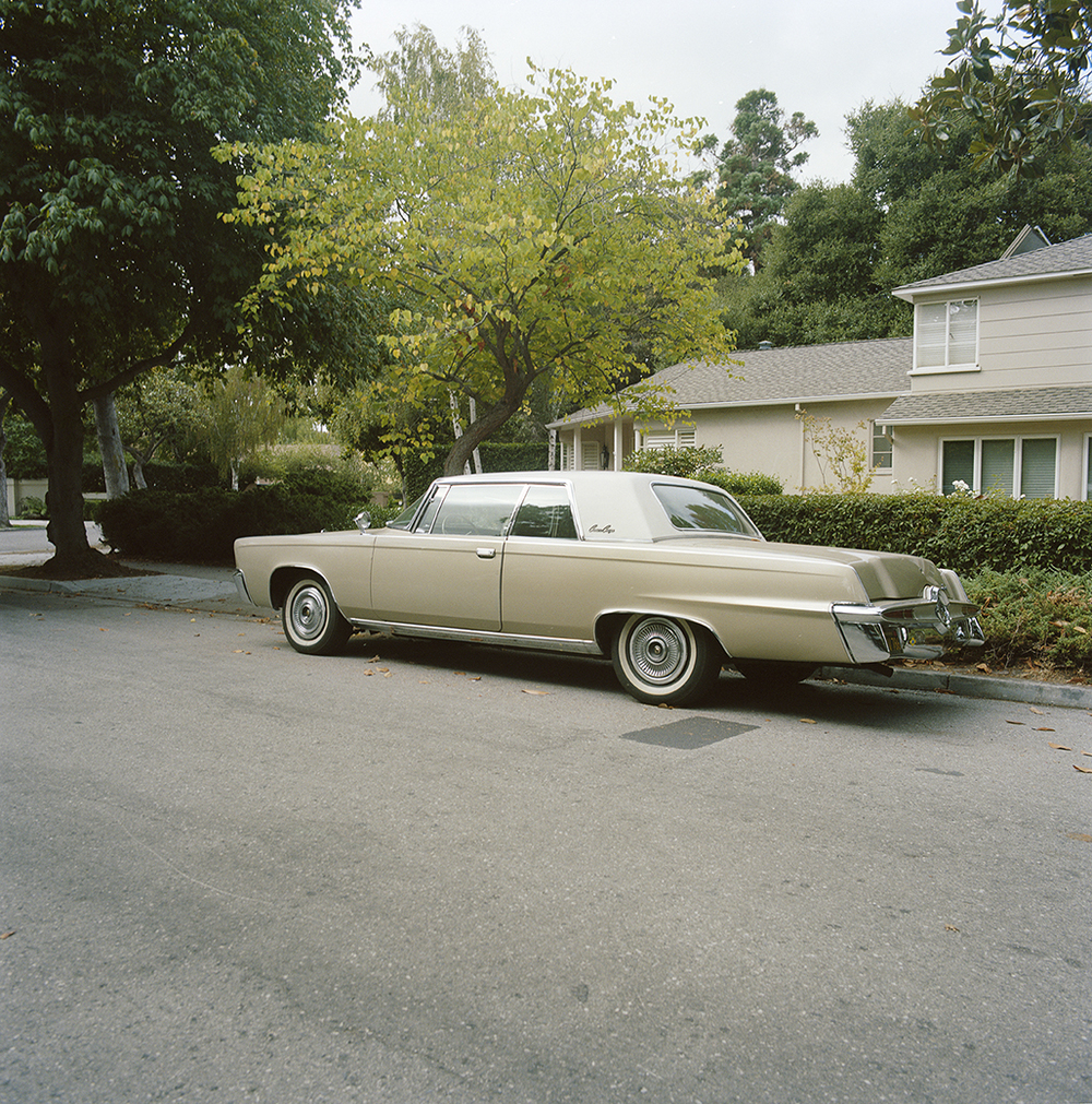 Suburb Study with Imperial Crown Coupe No. 2,  2010  Chromogenic Print 11 x 11 in Edition of 10