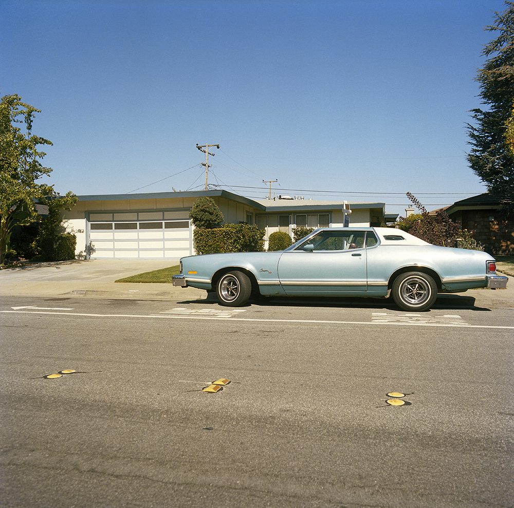 Suburb Study with Mercury Cougar,  2010  Chromogenic Print 25 x 25 in Edition of 10
