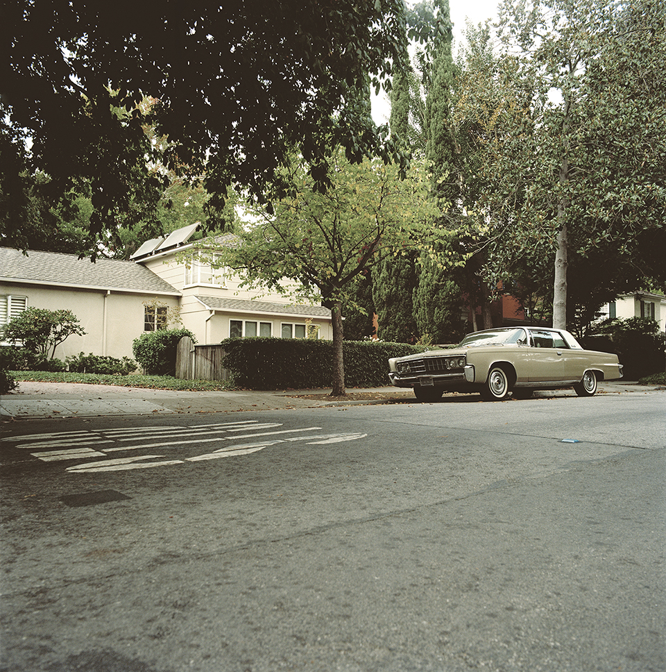 Suburb Study with Imperial Crown Coupe #1,  2010