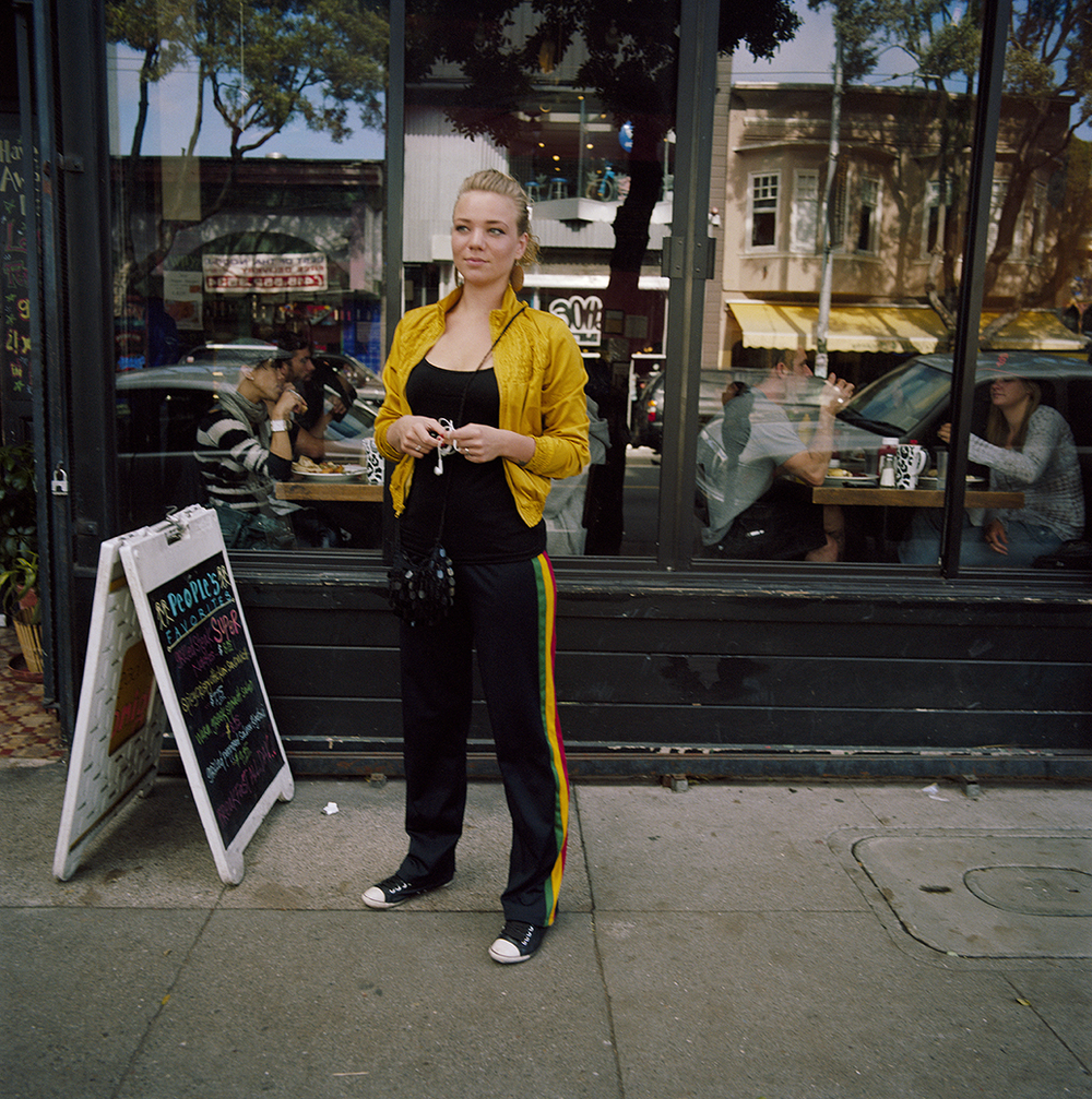 Woman in Yellow Jacket,  2010