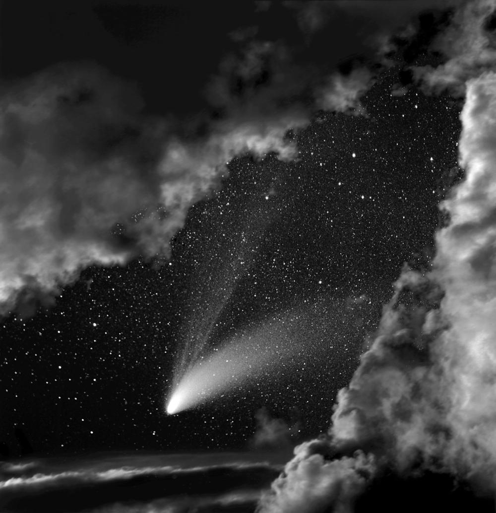 Comet Hale-Bopp , 1997  Archival Pigment Print Edition of 49