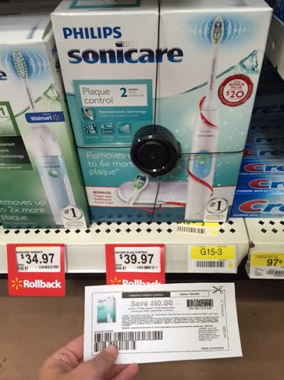 50 off Sonicare Electric Toothbrush at Walmart PriceMATCHERZ