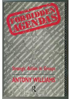 Forbidden Agendas