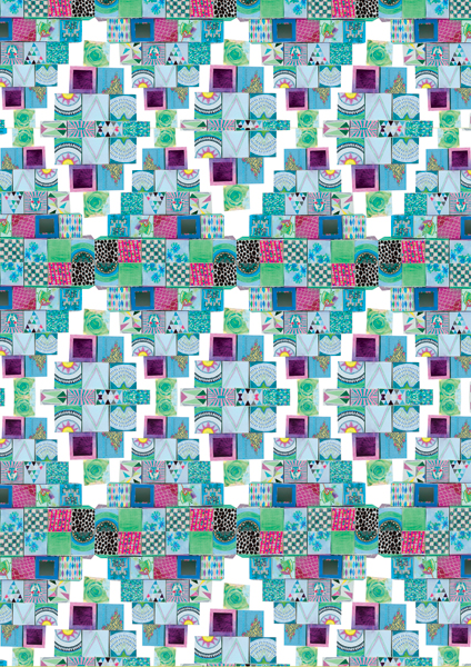 """Aztec Pattern"" by Sam Pierpoint"