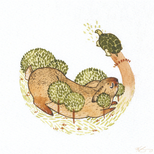 """The Hare and the Tortoise"" by Kailey Lang"