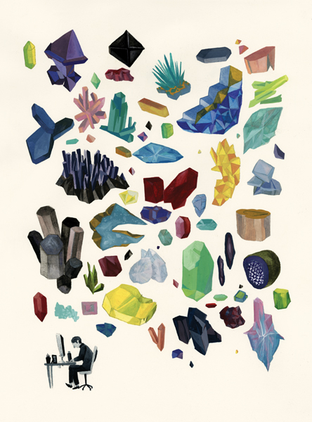 """MY FATHER STUDIED GEOLOGY"" BY JENSINE ECKWALL"