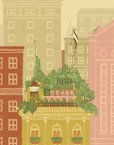 """URBAN GARDEN"" BY MEREDITH MIOTKE"