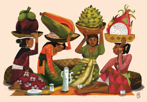 """FRUITS OF BALI"" BY SHANTI RITTGERS"