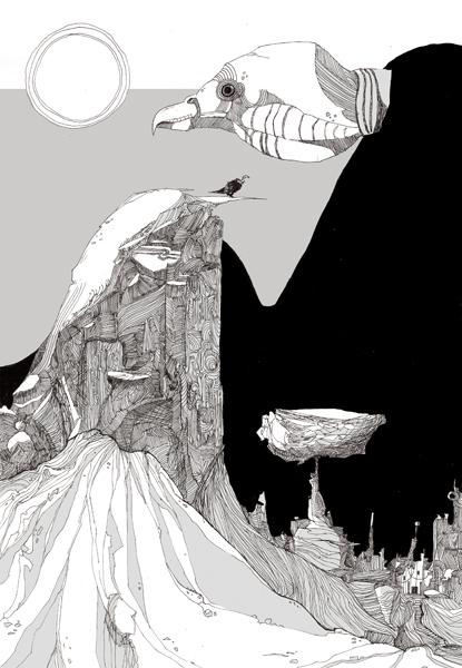 """""""VULTURE MEDICINE"""" BY CORYN LANASA"""