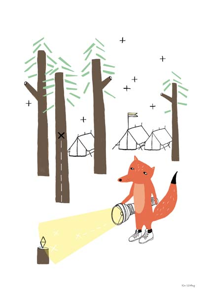 """Little Fox on Adventure"" by Kim Welling"