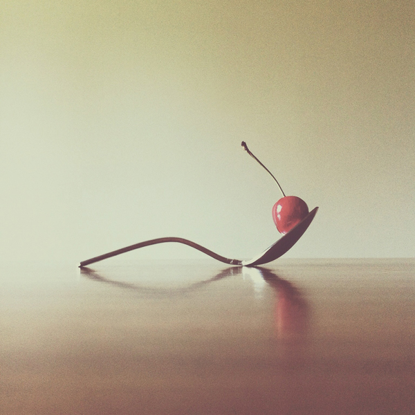 """Cherry and Spoon"" by Brock Davis"
