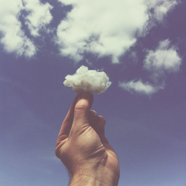 """Cotton Ball Cloud"" by Brock Davis"