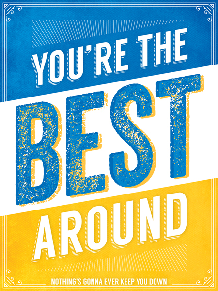 """You're the Best Around"" by Tom Wiener"