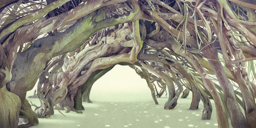 """""""Yew Tunnel"""" by Joy Ang"""