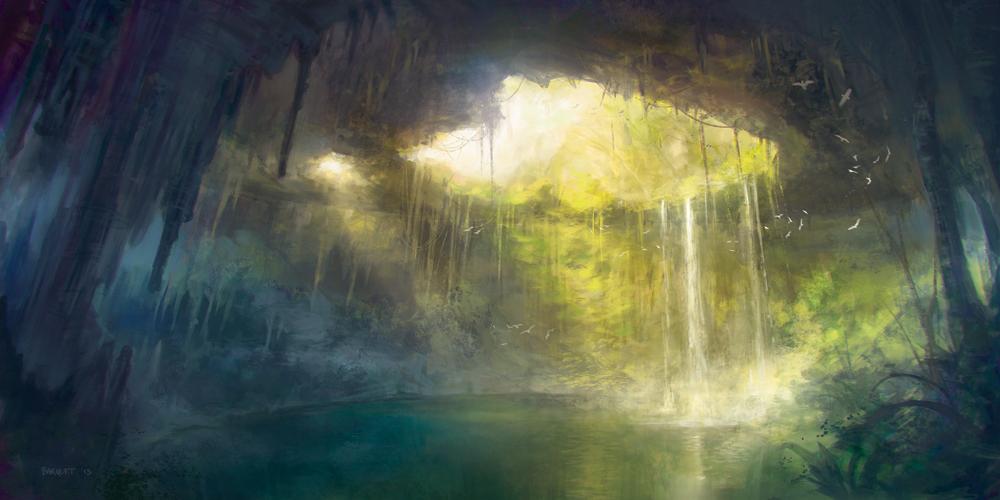 """Cenote"" by Juan Carlos Barquet"