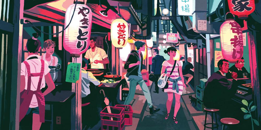 """""""Omoide Yokocho"""" by Kali Ciesemier"""