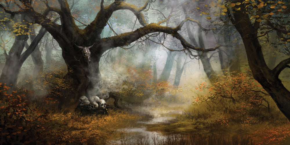 """Fjöturlundr–Grove of Fetters"" by JB Casacop"