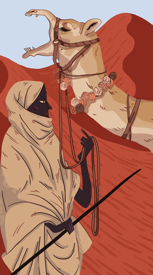 """Nyarai the Nomad"" by Nicole Miles"