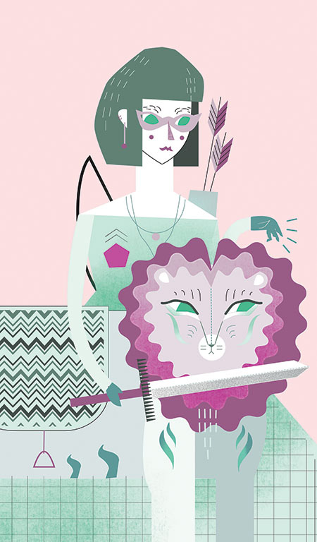 """Sophie the Bombastic Cat Lady"" by Sophie Blackhall Cain"
