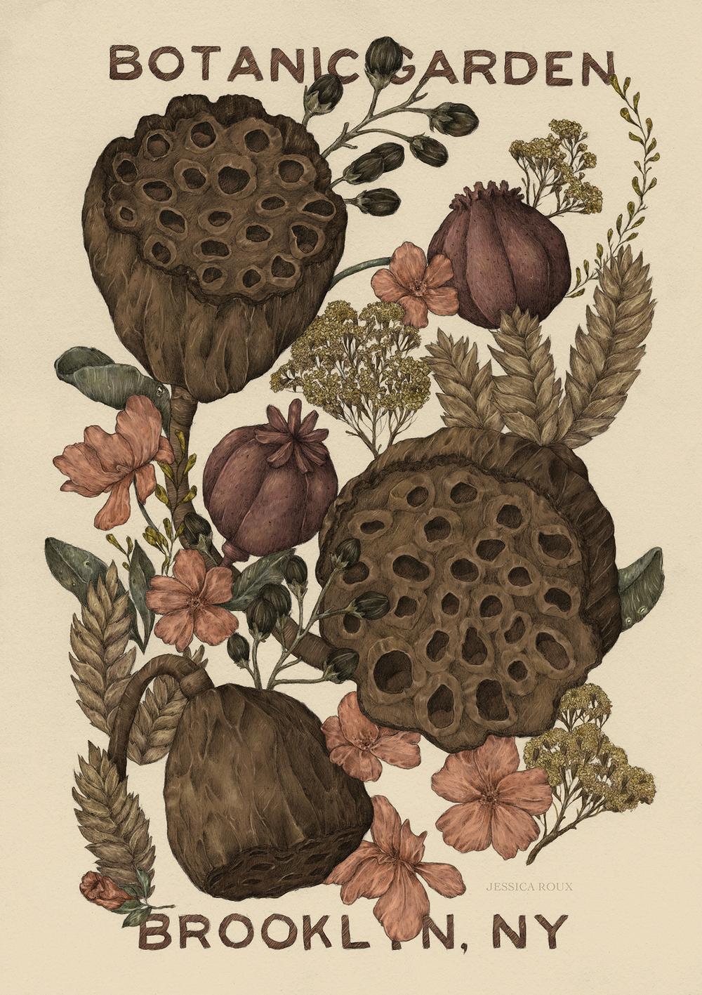 """Botanical Garden"" by Jessica Roux"