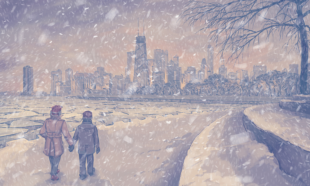 """Belmont Harbor"" by Casey Crisenbery"