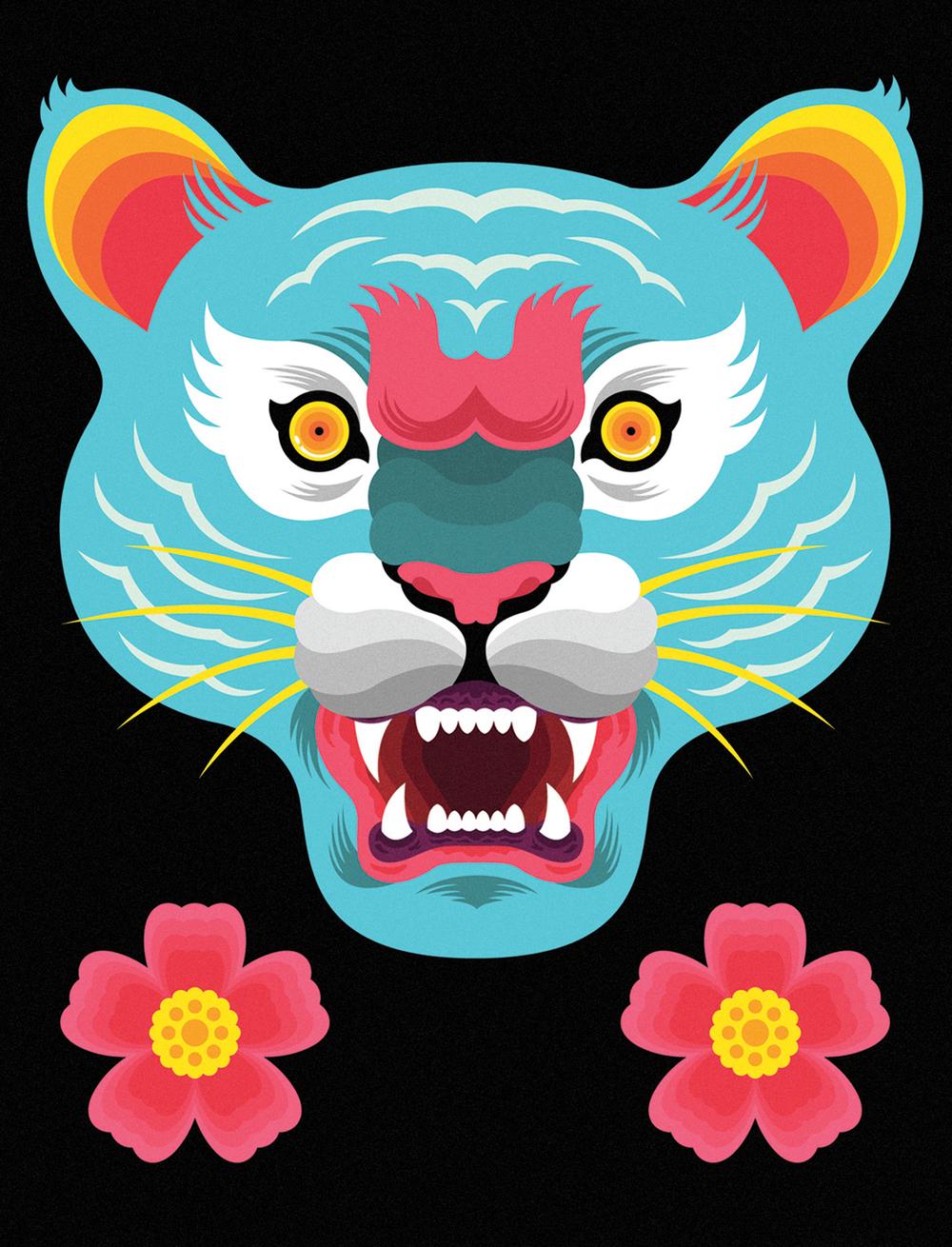 """""""Malayan Tiger"""" by Benjamin Lam"""