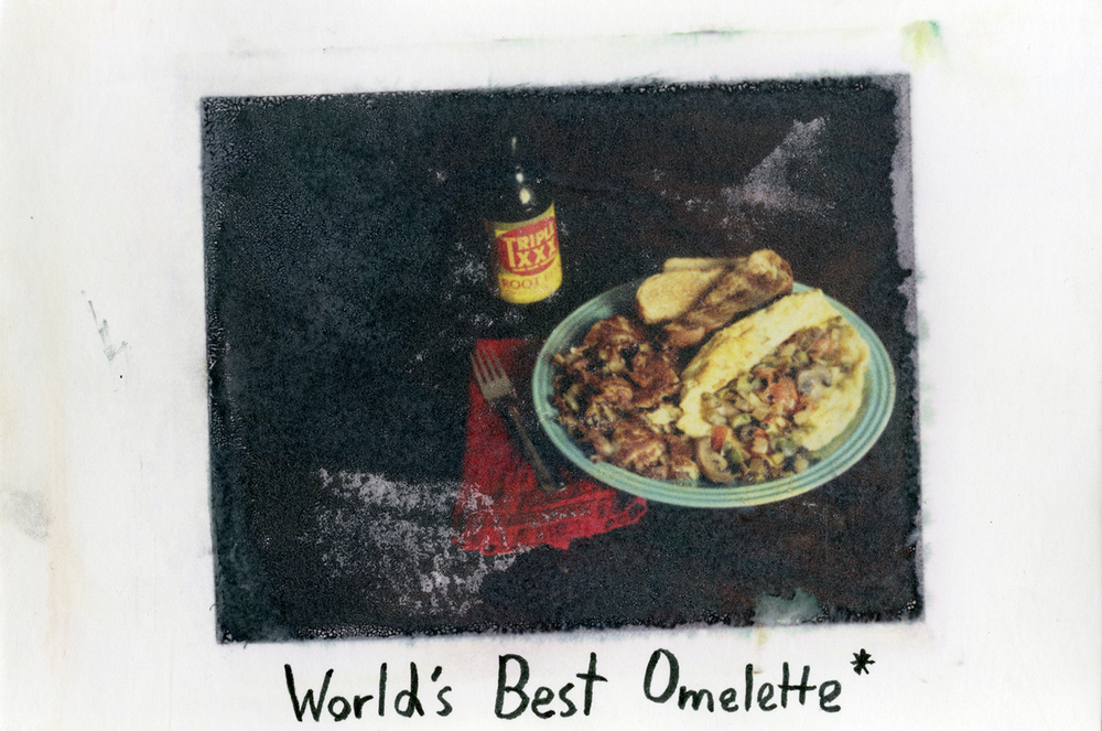 """World's Best Omelette*"" by Josh Olson"