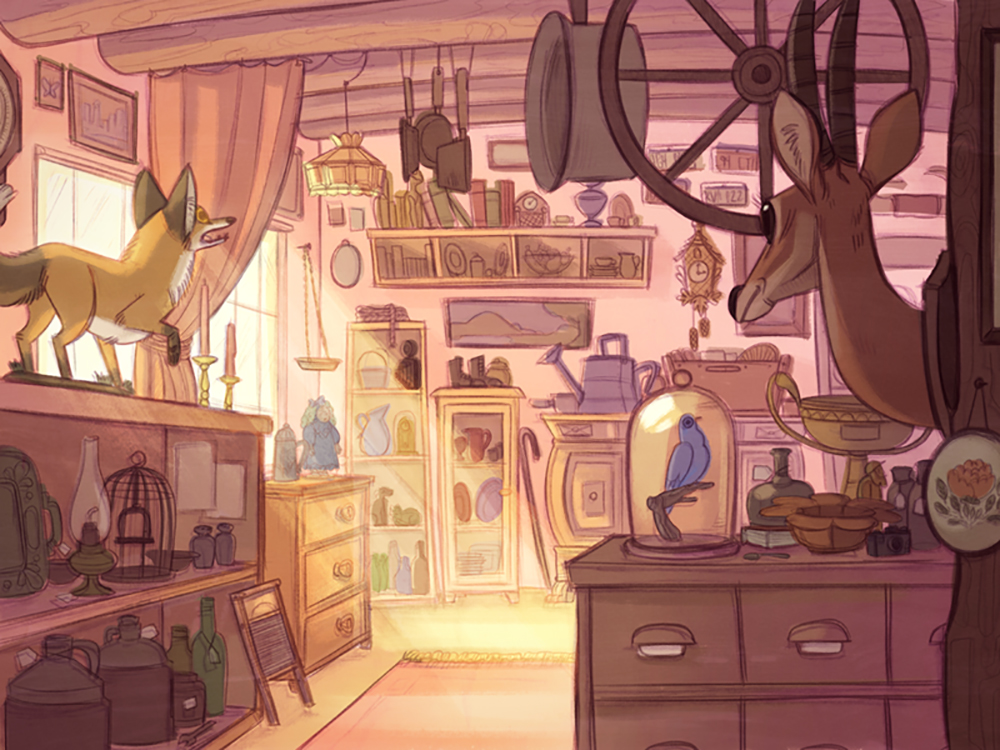 """Antique Store"" by Kendra Phillips"