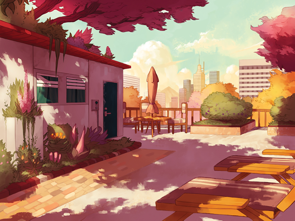 """Rooftop Balcony"" by Evan Monteiro"
