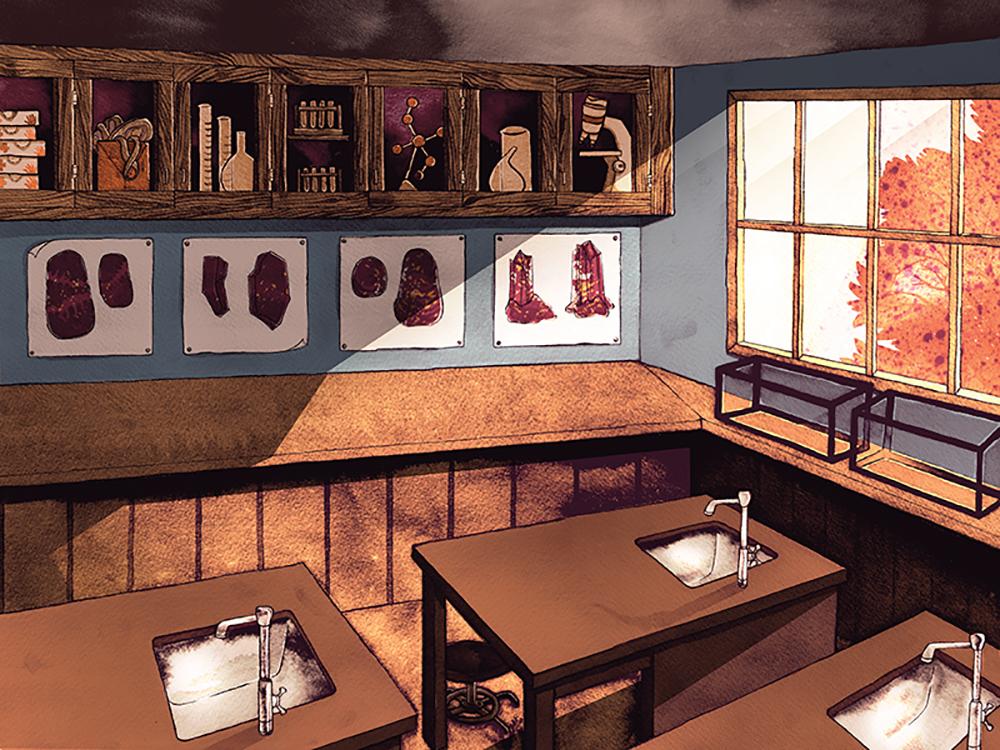 """""""Classroom"""" by Caitlin Clarkson"""