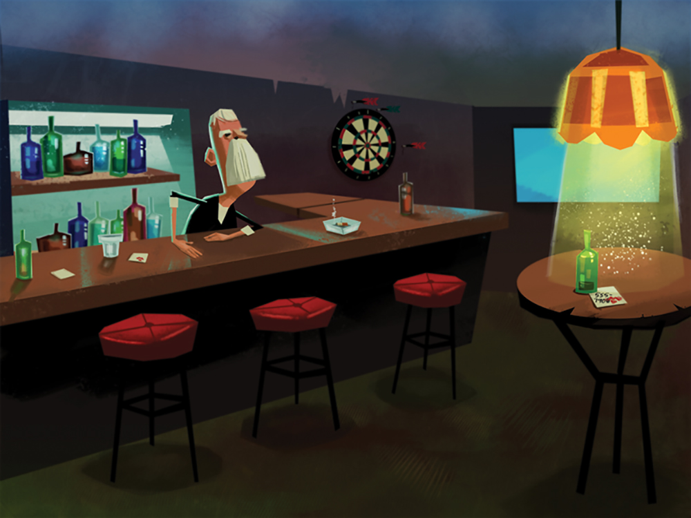 """Dive Bar"" by Charlotte Mao"