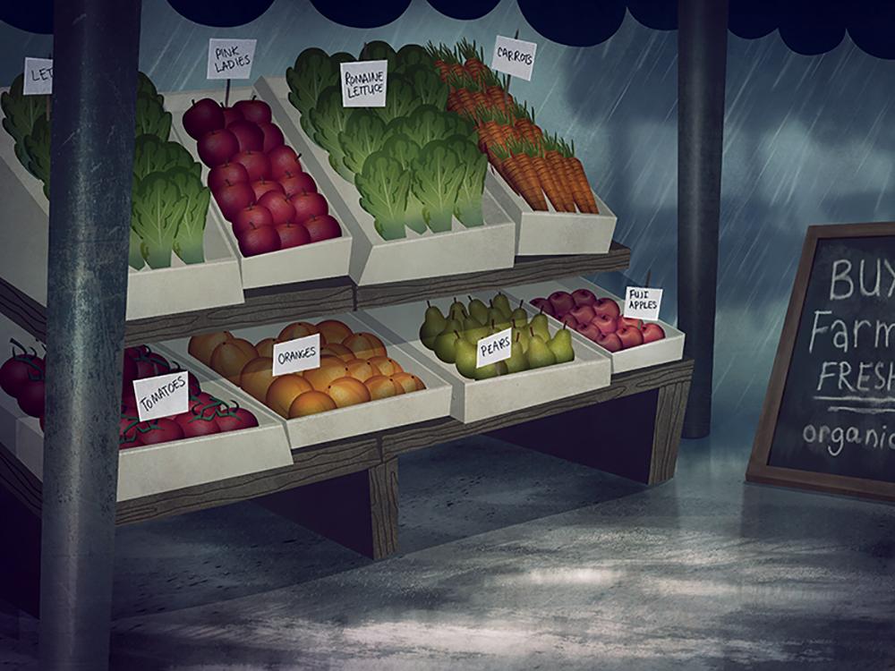 """""""Farmers Market"""" by Sarah Marino"""