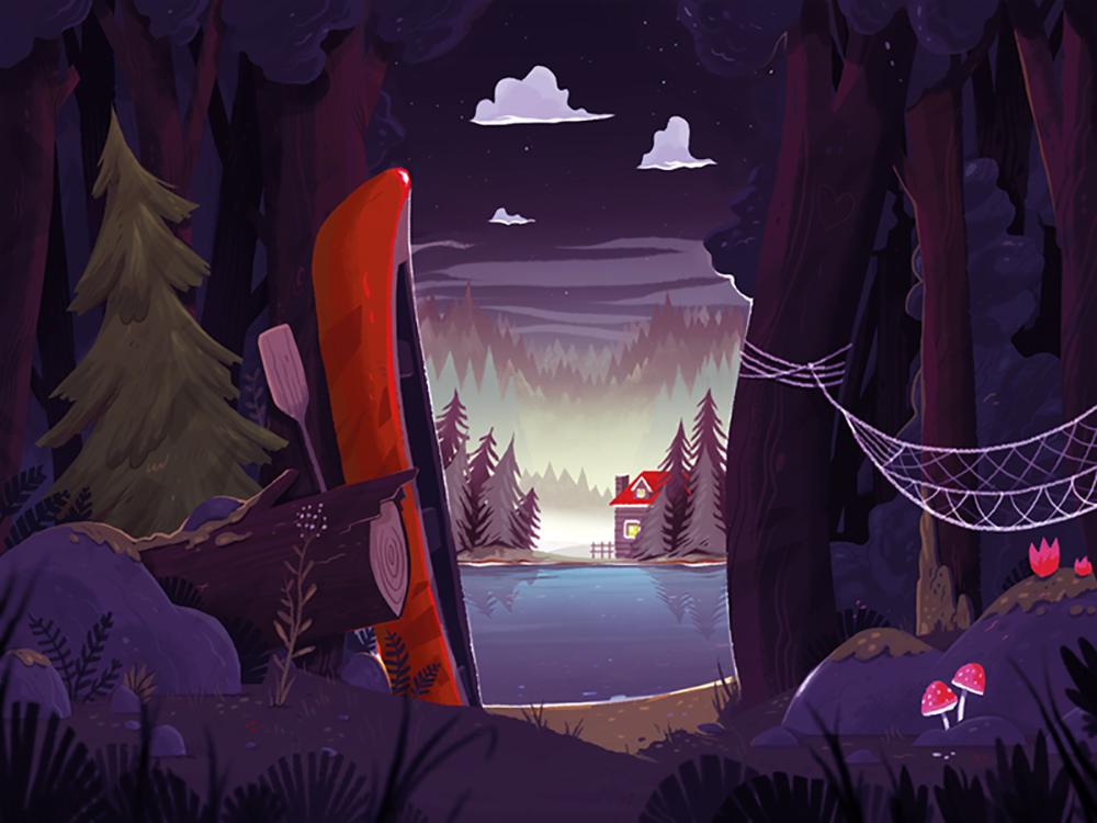 """Camp Beaver Lake"" by Manuel Kilger"