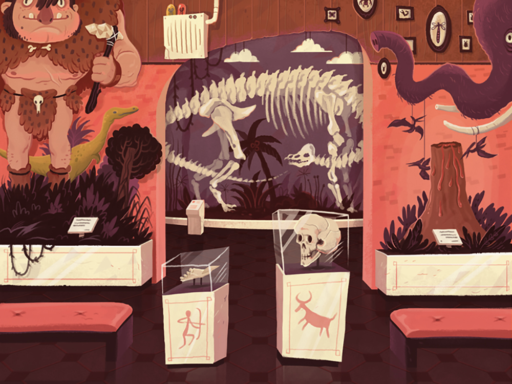 """Dr. Dick Daily's Museum of Natural History"" by Manuel Kilger"