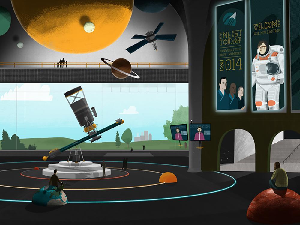 """""""Metro Planetarium"""" by Bill Ferenc"""