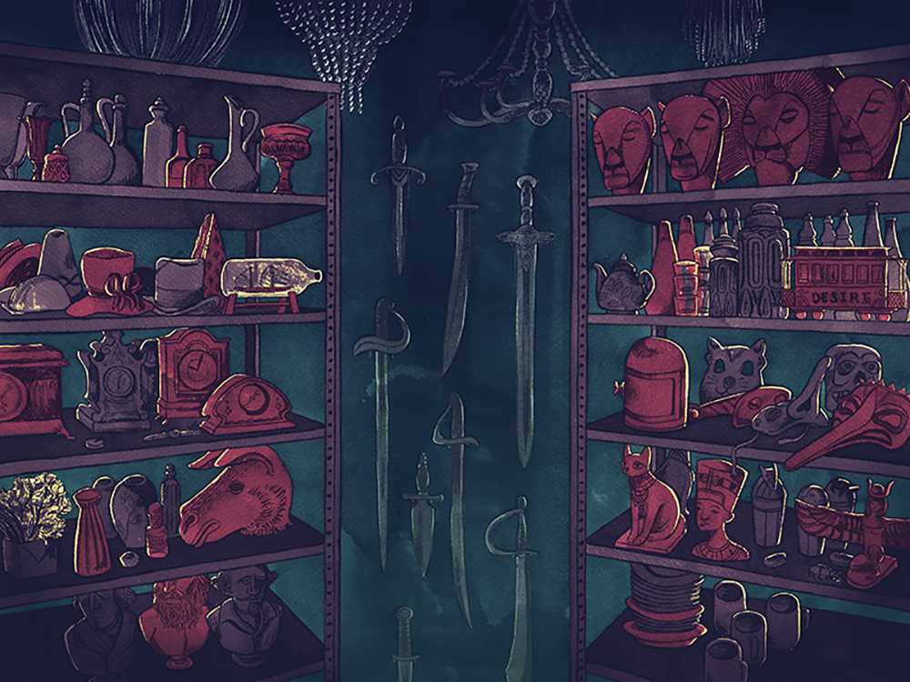 """Prop Room"" by Caitlin Clarkson"