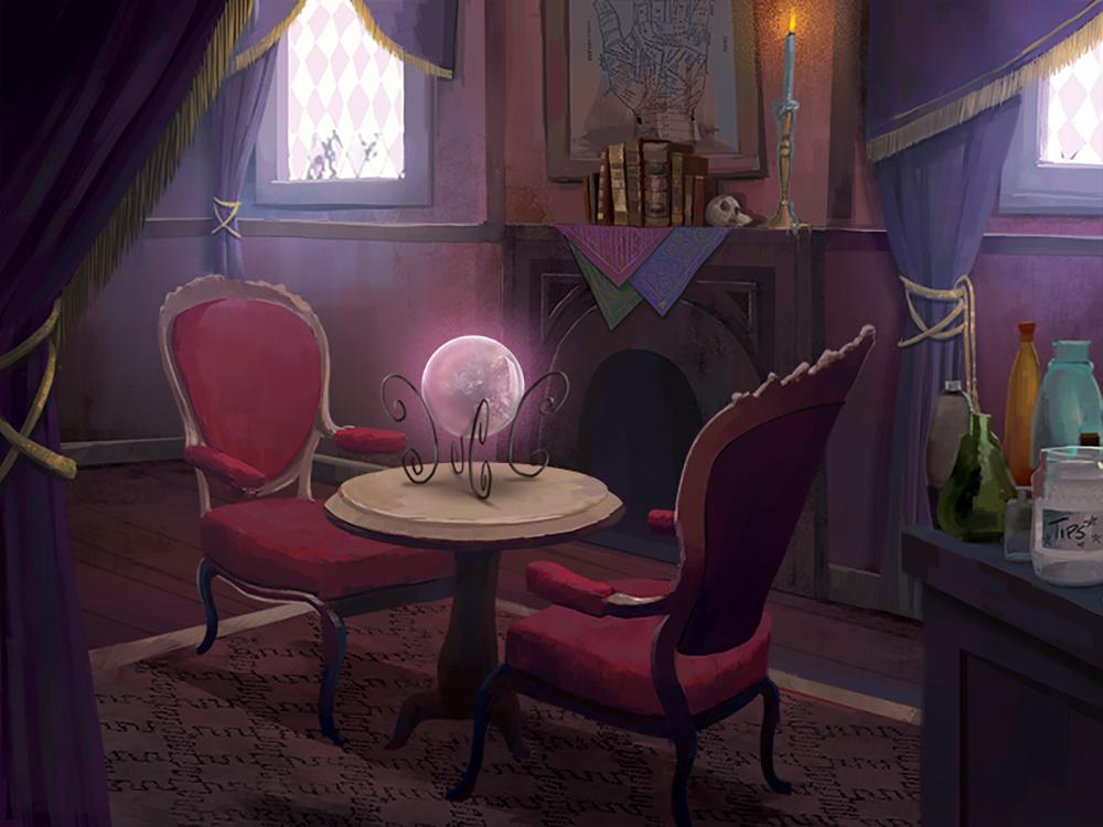 """Psychic's Studio"" by Elise Hatheway"