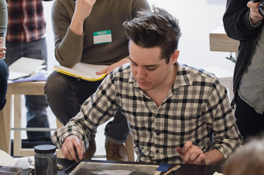 Studio intensive workshop with freelance and editorial illustrator and exhibiting artist, Sam Wolfe Connelly.