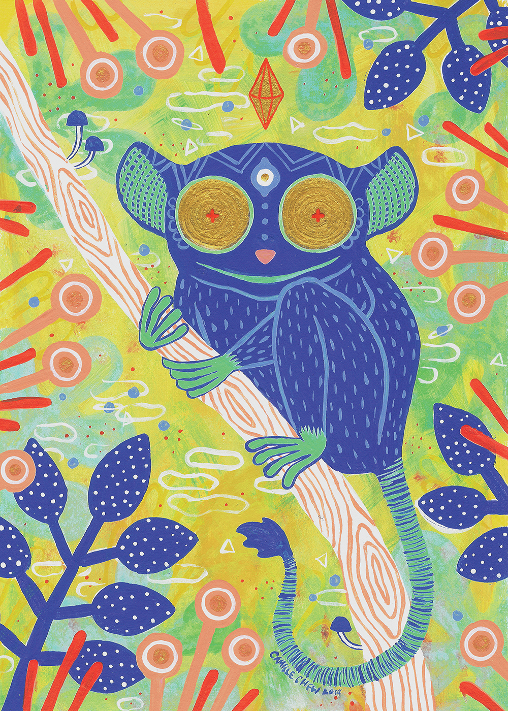 """The All-Seeing Tarsier"" by Camille Chew"