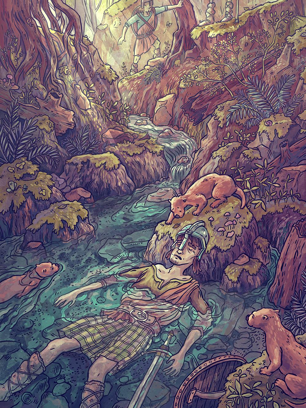 """Dratsie Cove"" by Casey Crisenbery"