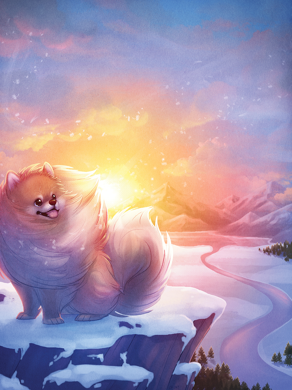 """Tiny Dog, Big Spirit"" by Chelsea Kenna"
