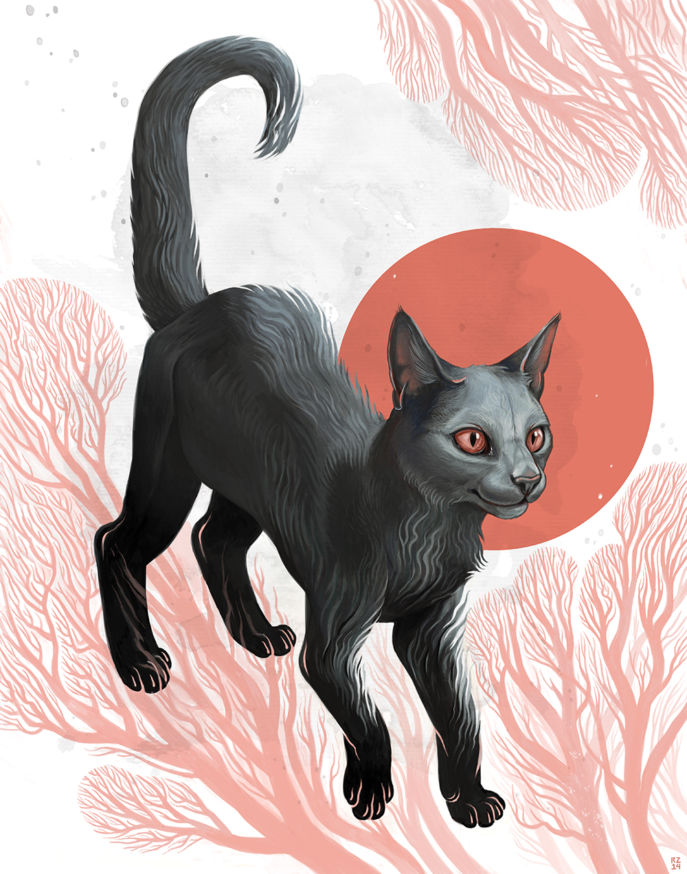 """Noir"" by Rebecca Zomchek"