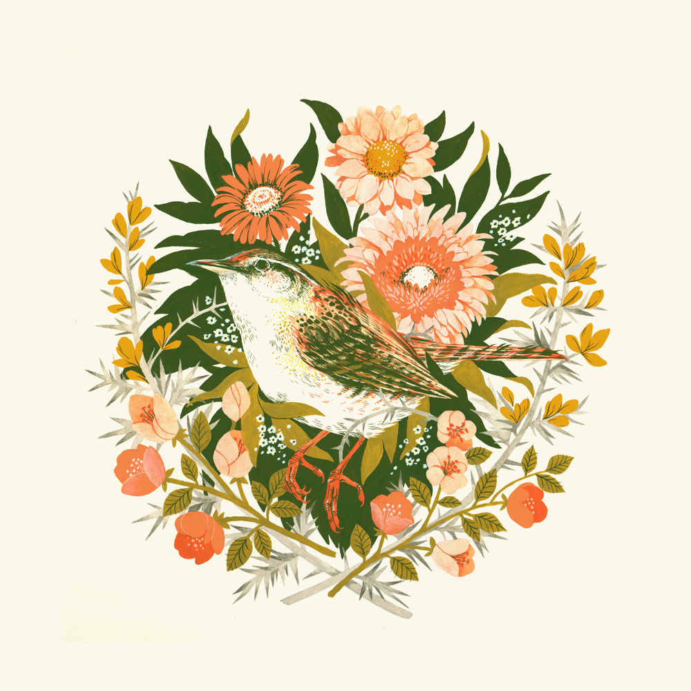 """Wren Day"" by Teagan White"