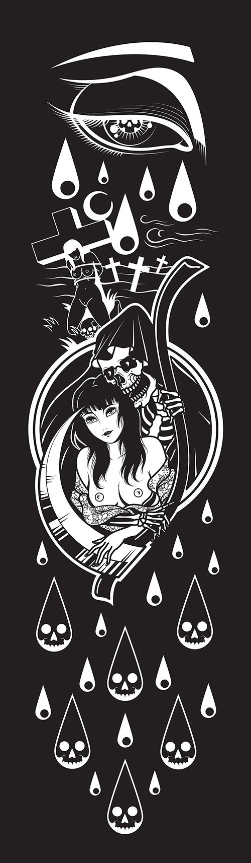 """Death and the Maiden"" by Hiten Damodar"